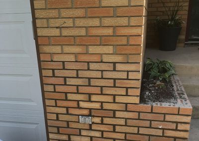 Brick planter repair