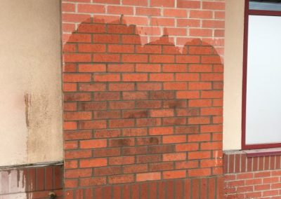 Brick repair commerical