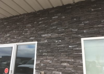 Manufactured stone install